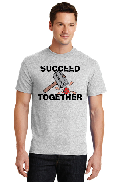 Succeed Together Shirt Mockup